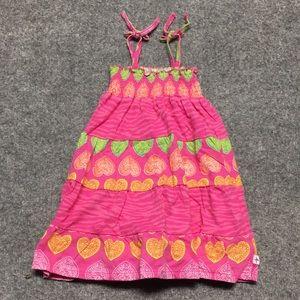 12 months sundress hearts and zebra print